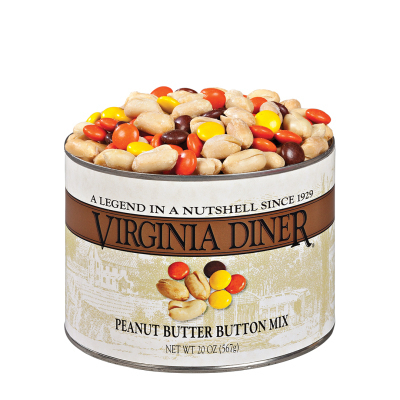 Peanut Butter Button Mix 20 oz. Classic Tin