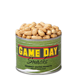 Game Day Snacks  Salted Peanuts 10 oz. can
