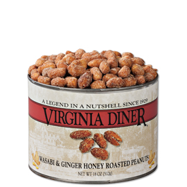 18 oz. Wasabi & Ginger Honey Roasted Peanuts