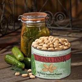 Dill Pickle Peanuts