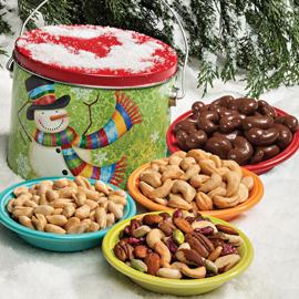 Super Snacker Gift Tin 24 oz. Reusable Tin