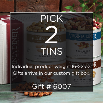 Gift #6007 Two Medium Cans priced from $24.00