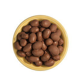 Double-Dipped Chocolate Covered Peanuts 16 oz. Bag