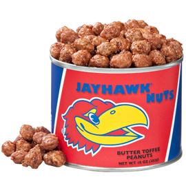 University of Kansas  Butter Toffee Peanuts