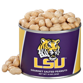 10 oz. Louisiana State Salted Gourmet Peanuts