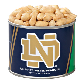 10 oz. Notre Dame Salted Gourmet Peanuts