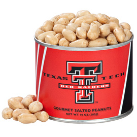 10 oz. Texas Tech Salted Gourmet Peanuts