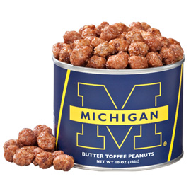 University of Michigan  Butter Toffee Peanuts