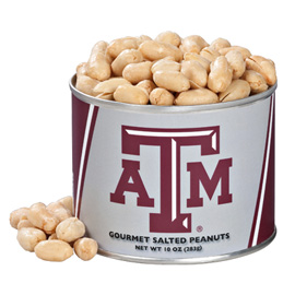 10 oz. Texas A&M Salted Gourmet Peanuts