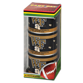 Wake Forest Game Day Triplet (3 Salted Peanuts)
