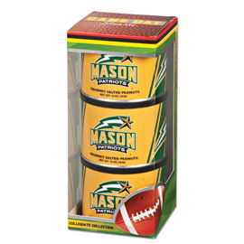 George Mason Game Day Triplet (3 Salted Peanuts)