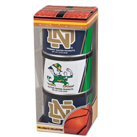 Notre Dame Basketball Triplet (3 Salted Peanuts)