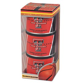 Texas Tech Basketball Triplet (3 Salted Peanuts)