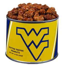 West Virginia University  Butter Toffee Peanuts