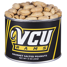 10 oz. Virginia Commonwealth Salted Gourmet Peanuts