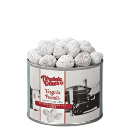 Dusted Chocolate Toffee Peanuts Heritage Collection 12 oz. Can