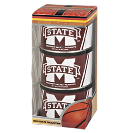 Mississippi State University Basketball Triplet