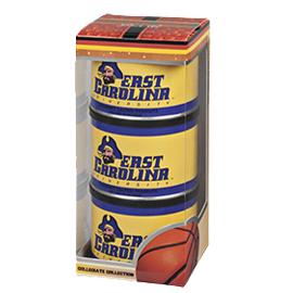 East Carolina Basketball Triplet (3 Salted Peanuts)