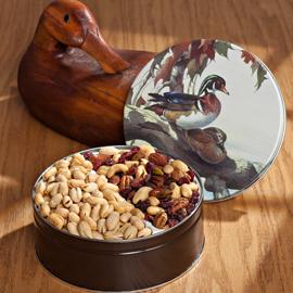 Sunbathers Duck Gift Tin